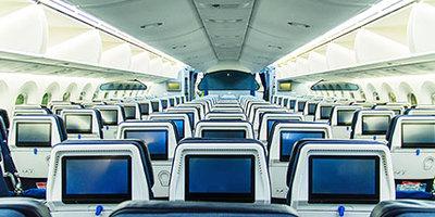 深紫外LED用在飞机、高铁、公交等公共交通工具