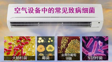空调散热片/蒸发器细菌超标,成安全隐患