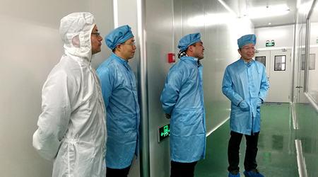 热烈欢迎孙小卫教授、孙海定教授、王恺副教授一行到访深紫科技考察交流