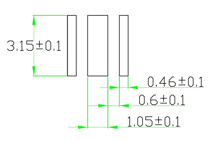 推荐PCB焊盘 Recommended pad for PCB