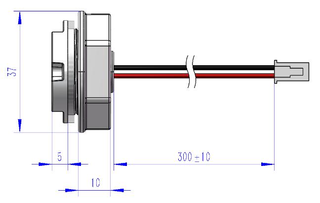产品示意图 Mechanical Specifications and Materials